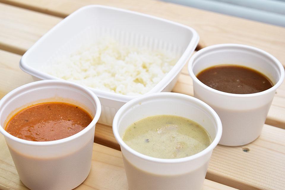 <b>【Curry Shop グランパ】</b>グリーン?ビーフ?バターチキン?テイクアウト専門のカレー店