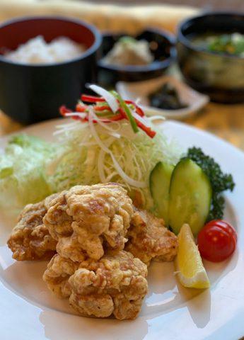 街ネタプラス|クアドーム/料理_唐揚げ定食