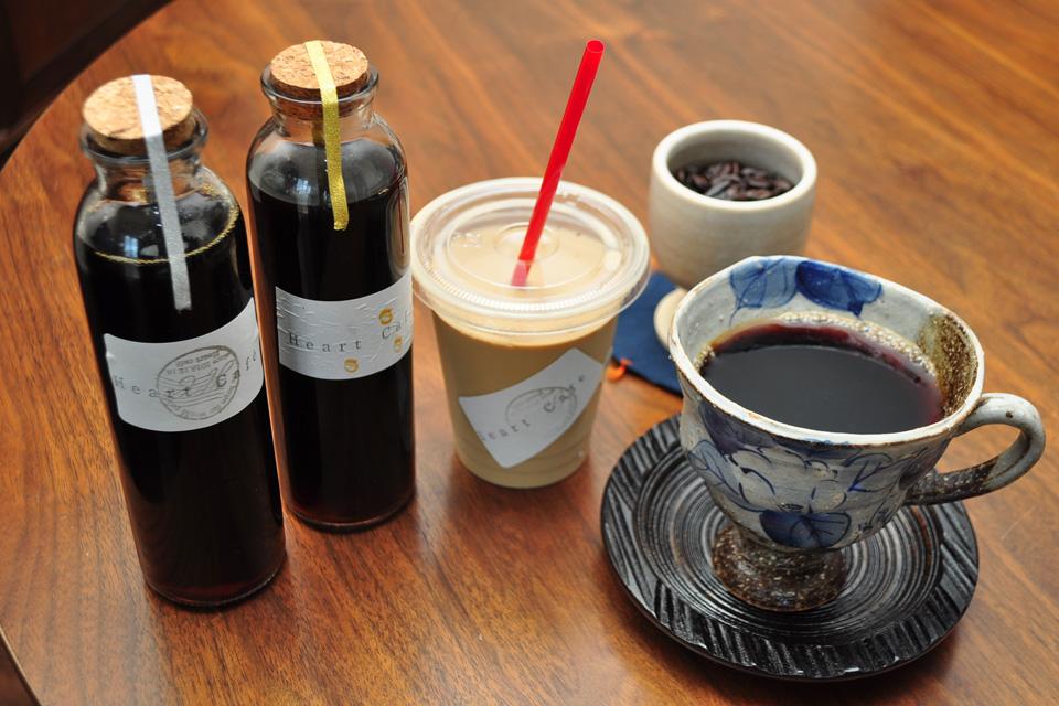 <b>【Heart Cafe】</b>2018年12月のオープン以来、クチコミでウワサの珈琲豆屋さん