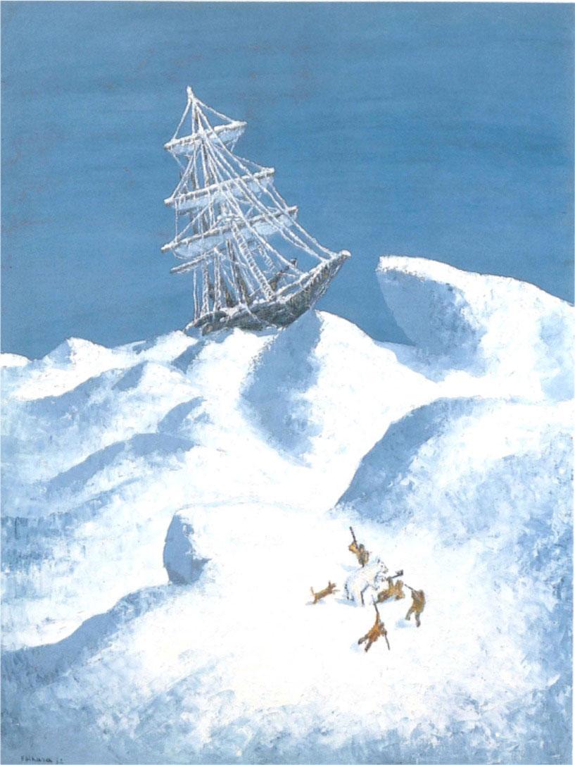 【長島美術館】没後50年 海老原喜之助展 油彩、水彩、デッサン…描き続けた日々