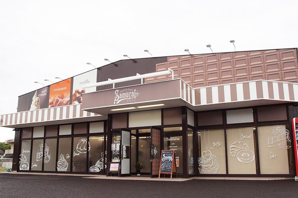 <b>【chocolate house Samurai】</b>人気パティシエのスイーツ店がいちき串木野市にオープン!ズラリと並ぶスイーツに夢中♡