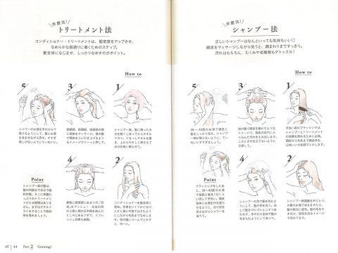 余慶尚美|髪トレ|シャンプー法