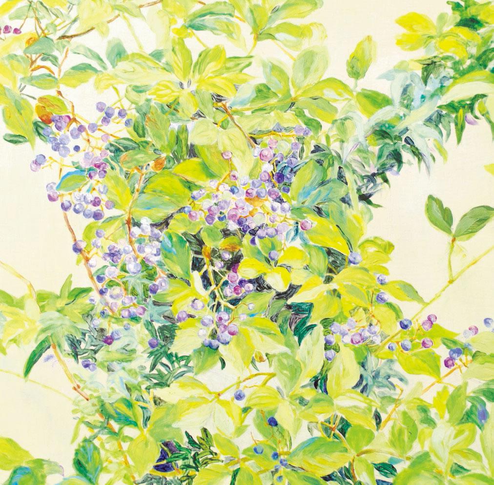 【鹿児島市】塩満幸香 絵画展「草木と紡ぐ」