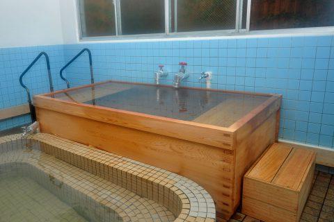 街ネタプラス|鹿児島|おでかけ|温泉|えがおの湯|大浴場_檜風呂