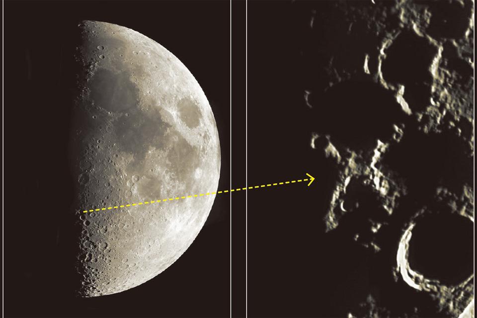 【せんだい宇宙館】月面X観察会