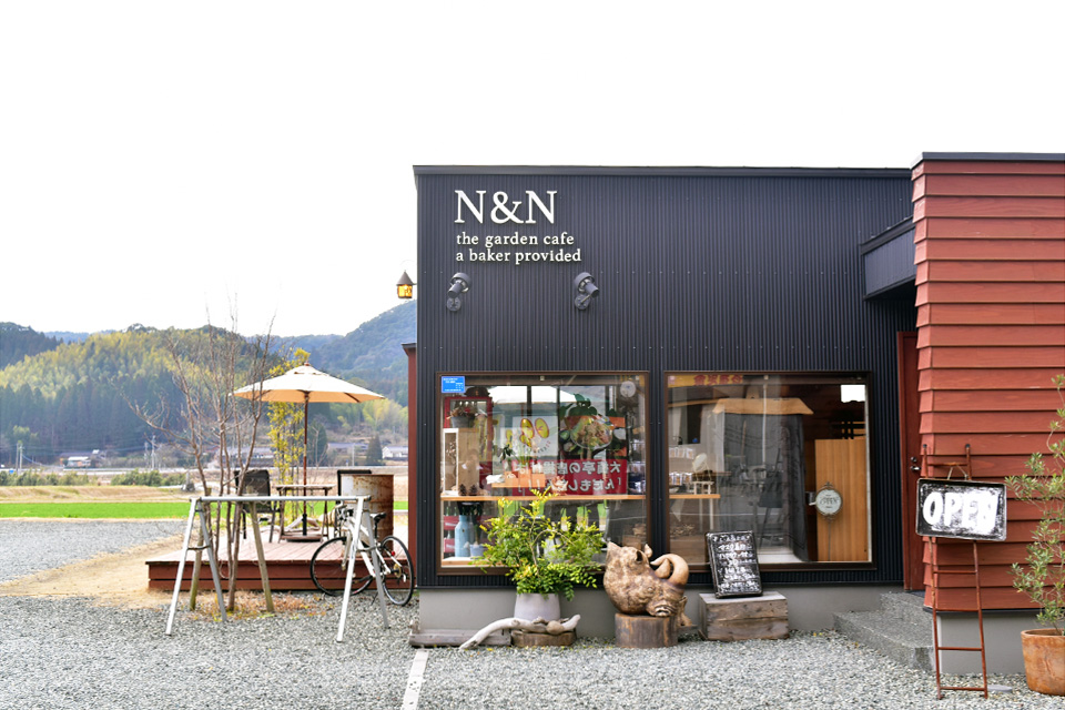 <b>【N&N the garden cafe a baker provided】</b>お腹も心も満たされる愛しのベーカリー(柴犬あり)