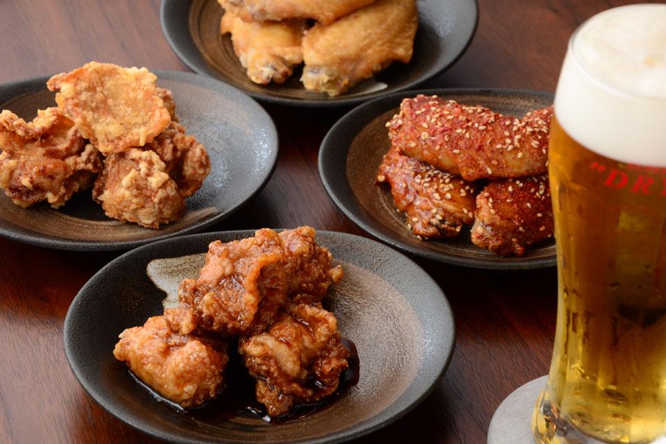 <b>【鶏専門 桜島や】</b>こだわりの鹿児島県産鶏を使った自慢の鶏料理を召し上がれ