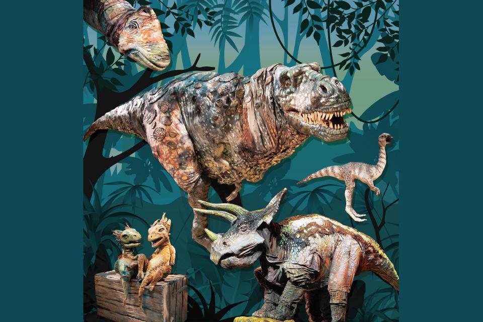 【宝山ホール】リアル恐竜ショー 恐竜パーク