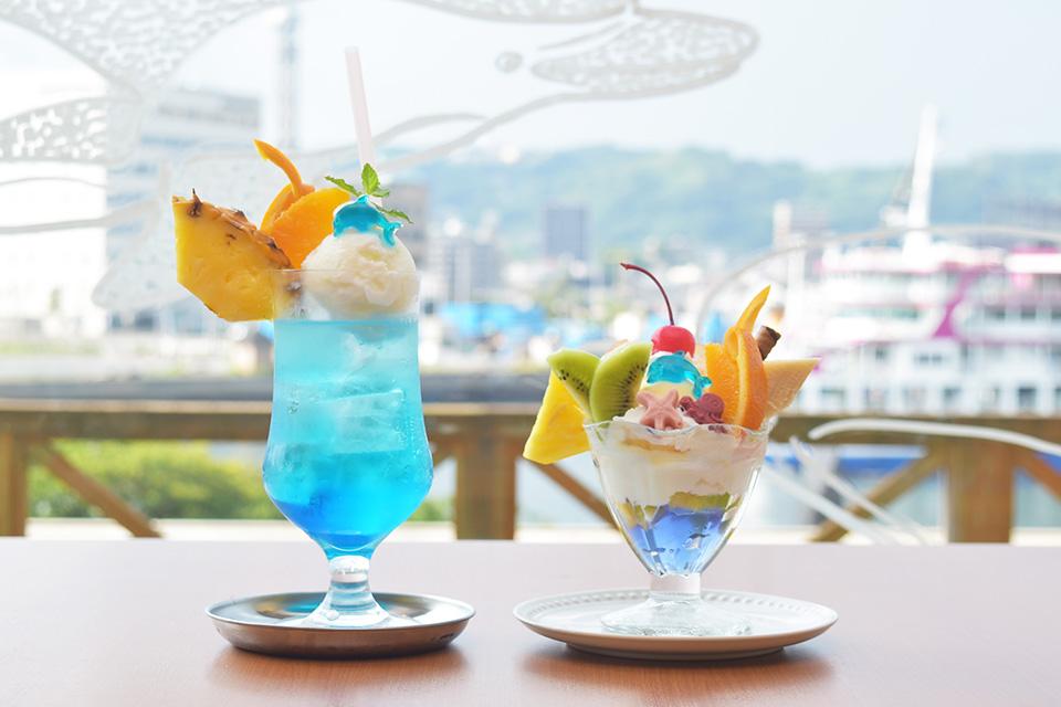 <b>【水族館の果実堂】</b>ランチにカフェに楽しみいっぱい!新しくなった水族館のレストラン♪